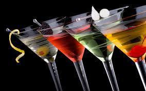 Cocktailgläser Bunt, Taxi Hainburg, Tamara Dorner